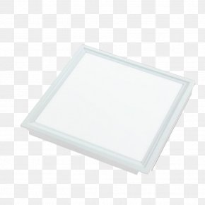 Product Object Square Flat Lamp - Rectangle PNG