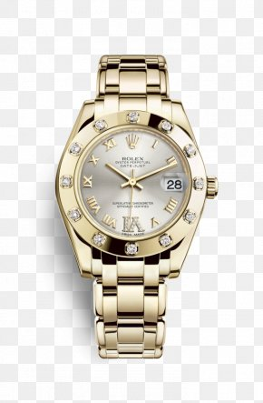 Rolex - Rolex Datejust Counterfeit Watch Jewellery PNG