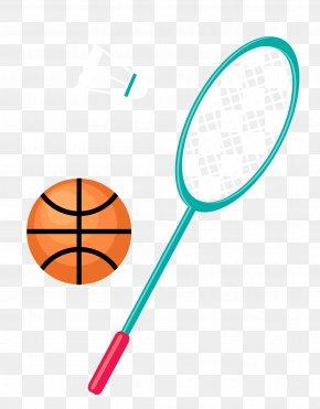 Vector Ball - Badmintonracket Badmintonracket PNG
