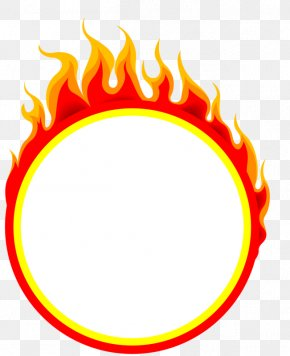 Fire Ring Of Fire - Flame Ring Of Fire Clip Art PNG