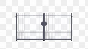 Gate - Gate Wrought Iron Fence Galvanization PNG