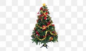 Christmas Tree - Christmas Tree Christmas Lights Christmas Ornament Pre-lit Tree PNG
