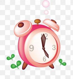 Alarm Clock - Alarm Clock Pink Icon PNG