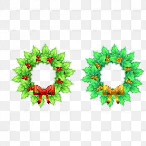 Green Christmas Creative - Christmas Santa Claus Icon PNG