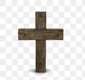 Wooden Cross - Cross Wood Icon PNG