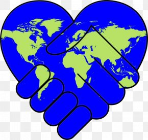 World Thumb - Gesture Finger Hand Electric Blue Thumb PNG