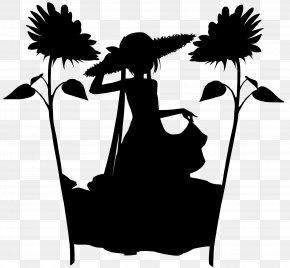 M Silhouette Cartoon - Clip Art Illustration Black & White PNG