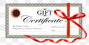 Gift - Gift Card Voucher Birthday Coupon PNG