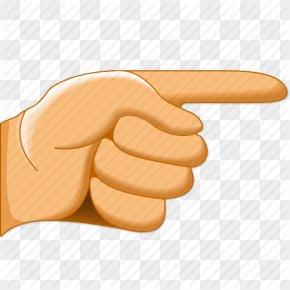 Pointer Finger - Index Finger Cursor Pointer Clip Art PNG