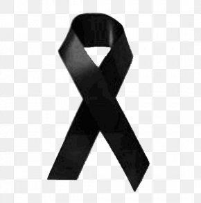 Black Ribbon - Mourning Black Ribbon Death Renazzo PNG