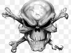 Skull Devil - Skull And Crossbones Human Skull Symbolism Skull Art PNG