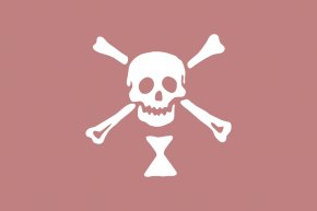 Rose Graphics - A General History Of The Pirates Pirate Round Golden Age Of Piracy Jolly Roger PNG