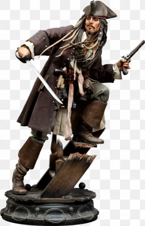 Pirates Of The Caribbean - Jack Sparrow Will Turner Pirates Of The Caribbean Piracy Sculpture PNG
