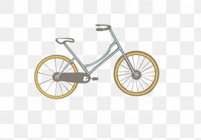 Hand-painted Bicycle - Bicycle Wheel Bicycle Frame Batavus Road Bicycle PNG