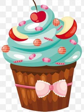 Cake - Cupcake Muffin Petit Four Birthday Cake Torte PNG