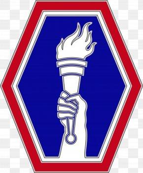 Line Regiment - Combat Service Identification Badge 442nd Infantry Regiment United States Army 100th Infantry Battalion PNG