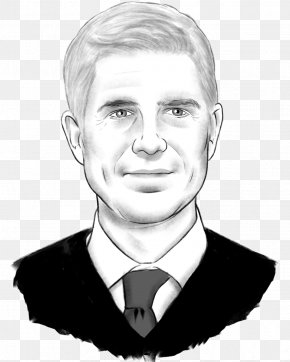 Neil Gorsuch Politico Chin Jaw Mouth PNG