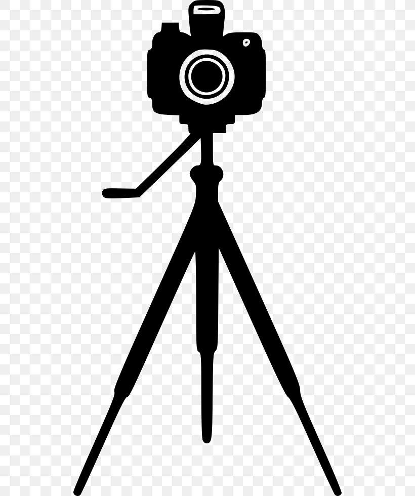 Tripod Camera Photography Clip Art Png 532x980px Tripod Black And White Camera Camera Accessory Cameras Optics