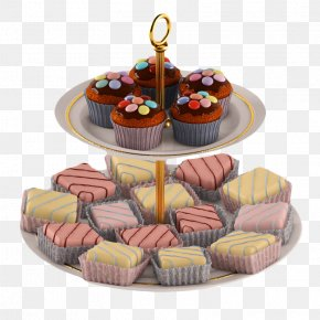 Two Layer Cake Rack - Layer Cake Cupcake Coconut Cake 3D Modeling PNG
