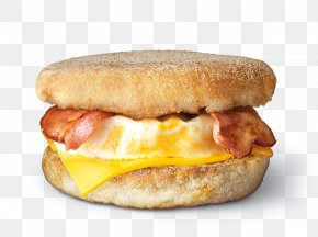 Egg Roll - Breakfast Sandwich Bacon, Egg And Cheese Sandwich English Muffin PNG