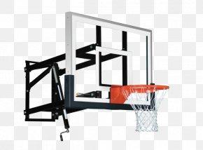 Play Basketball - Backboard Basketball Breakaway Rim Net Spalding PNG