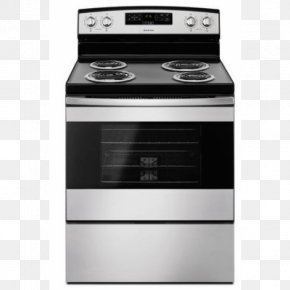 Home Appliance - Electric Stove Cooking Ranges Home Appliance Self-cleaning Oven PNG