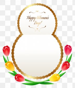 Happy Womens Day PNG Clipart Image - International Women's Day March 8 Mărțișor Clip Art PNG