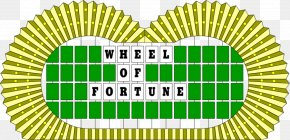 Wheel Of Fortune - The Game Of Life Puzzle Board Game Game Show PNG