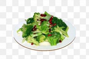 Pepper Fried Broccoli - Broccoli Cauliflower Cancer Vegetable Food PNG