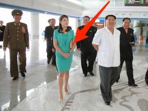 Kim Jong-un - Pyongyang International Airport South Korea Korean Central News Agency Wife PNG