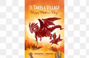 Mother Card - Dungeons & Dragons Wedding Invitation Mother's Day Holiday PNG