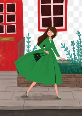 Female White-collar Work In A Hurry - Download White-collar Worker PNG