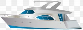 Speed Boat Transparent Clip Art Image - Motorboat Clip Art PNG