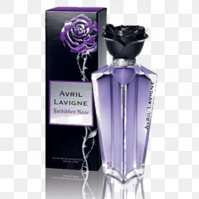 Avril Lavigne - Forbidden Rose Perfume Chanel Black Star What The Hell PNG