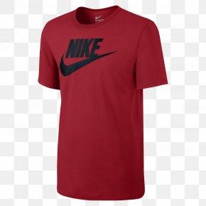 T-shirt - T-shirt Nike Top Blouse Swoosh PNG