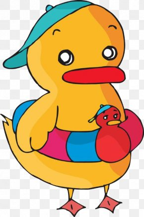 Duck - Duck Cartoon Clip Art PNG