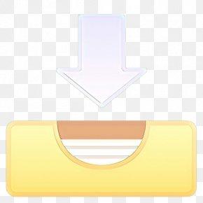 Meter Material - Rectangle Yellow Font Design Material PNG