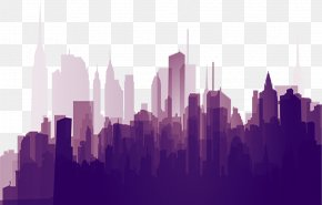 Building - Building Silhouette Download PNG