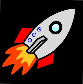 Rocket Flame Cliparts - Rocket Spacecraft Clip Art PNG