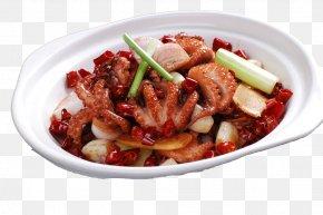 Sand Nest Garlic - Octopus Nakji-bokkeum Chinese Cuisine Pungency Braising PNG