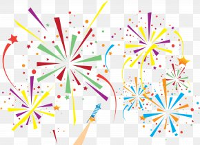 Fireworks Illustration - Fireworks Pyrotechnics Firecracker PNG