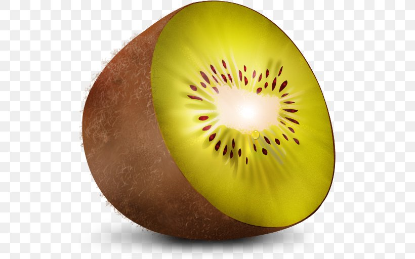 Kiwifruit ICO Icon, PNG, 512x512px, Kiwifruit, Apple Icon Image Format, Close Up, Emoticon, Food Download Free