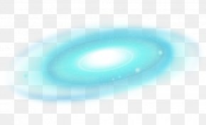 Sky Blue Galaxy - Turquoise Wallpaper PNG