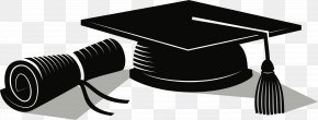 Graduation Label - Square Academic Cap Graduation Ceremony Diploma Clip Art PNG