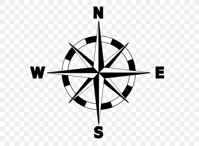 North Compass Rose Map Clip Art, PNG, 600x600px, North ...