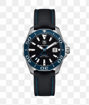 Automatic Watch - TAG Heuer Aquaracer Watch Armani Jewellery PNG