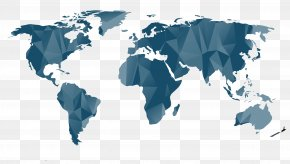 World Map - World Map Globe Geography PNG