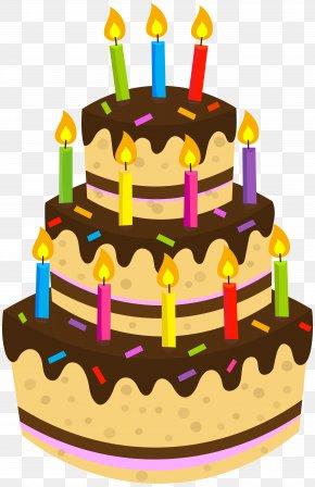 Birthday Cake Clip Art Image - Birthday Cake Chocolate Cake Clip Art PNG