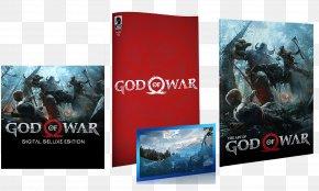 God Of War - The Art Of God Of War PlayStation 4 Special Edition GameStop PNG