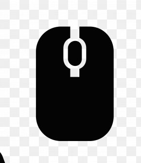 Black And White Computer Mouse Logo - Computer Mouse Black And White Computer File PNG